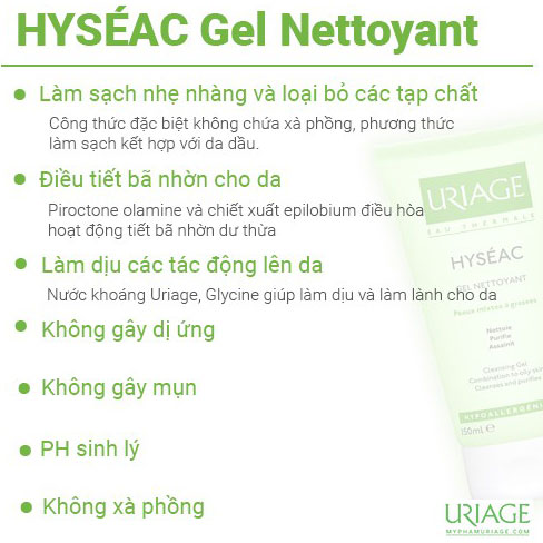 uriage-Hyseac-Gel-Nettoyant-Cleansing-cong-dung