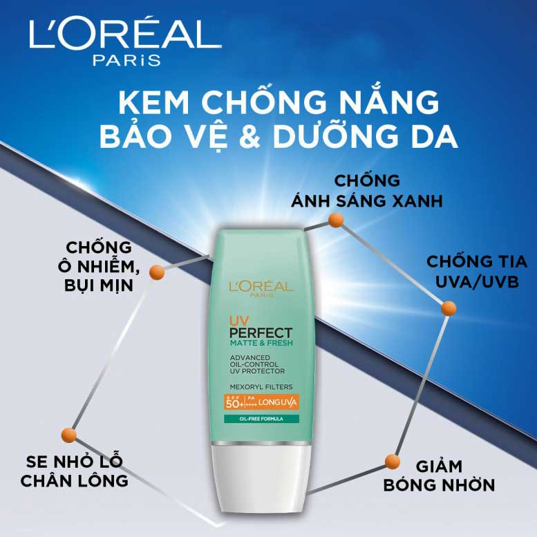 review-kem-chong-nang-Loreal-UV-Perfect-Matte-and-Fresh